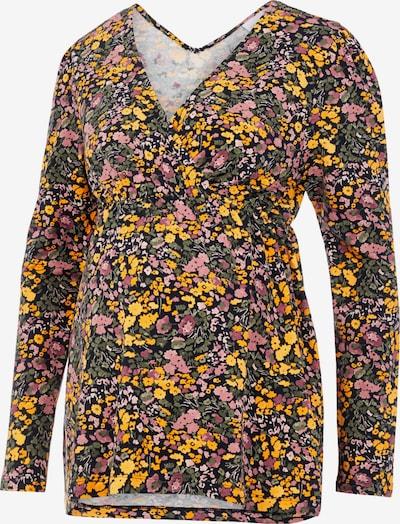 MAMALICIOUS Skjorte 'BETSY' i navy / orange / pink, Produktvisning