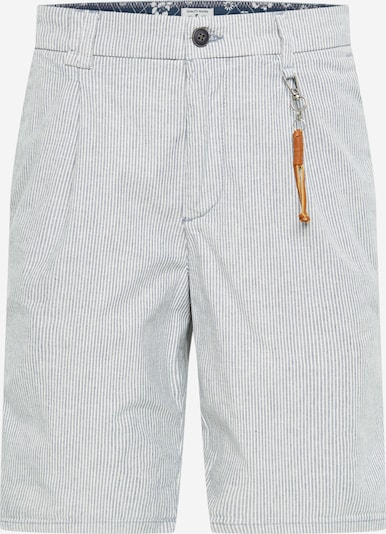 JACK & JONES Pantalon chino 'Milton AKM' en bleu marine / blanc, Vue avec produit