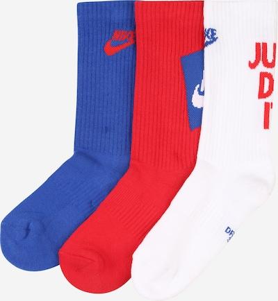 NIKE Sportovní ponožky - modrá / červená / bílá, Produkt