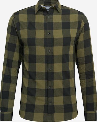 JACK & JONES Hemd 'EGINGHAM' in oliv / dunkelgrün, Produktansicht