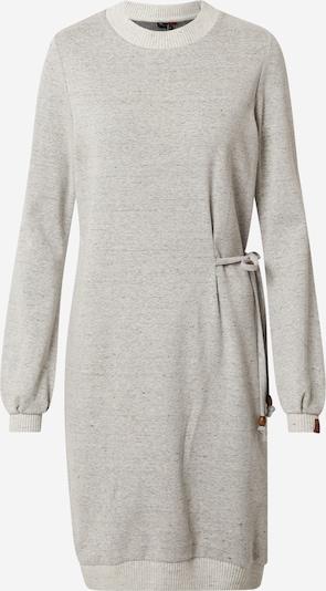 Ragwear Kleid 'PETAH' in graumeliert / weißmeliert, Produktansicht