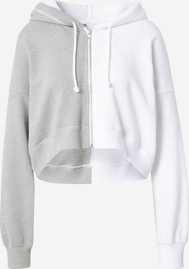 szürke / fehér HOLLISTER Tréning dzseki, Termék nézet