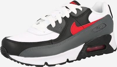 Nike Sportswear Sneaker in grau / rot / schwarz / weiß, Produktansicht