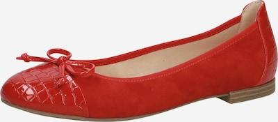 CAPRICE Ballerina in rot, Produktansicht