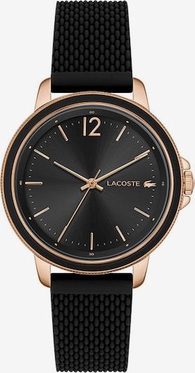 LACOSTE Uhr in rosegold / schwarz, Produktansicht