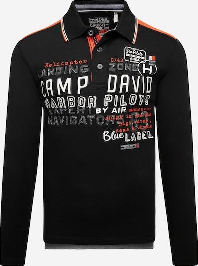 CAMP DAVID Shirt in de kleur Zwart, Productweergave
