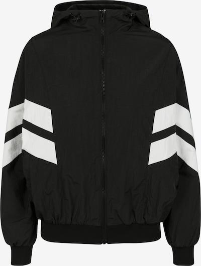 Urban Classics Prijelazna jakna u crna / bijela, Pregled proizvoda