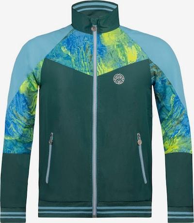 BIDI BADU Tennisjacke 'Jabu Tech Jacket' in dunkelgrün, Produktansicht
