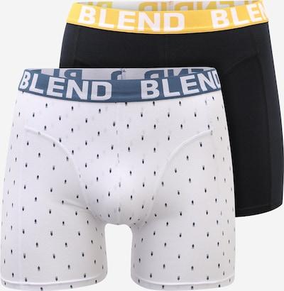 BLEND Μποξεράκι σε ναυτικό μπλε / κίτρινο / μαύρο / offwhite, Άποψη προϊόντος