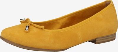 s.Oliver BLACK LABEL Ballerina in gelb, Produktansicht