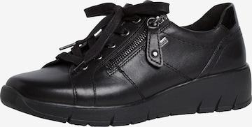 Chaussure à lacets JANA en noir