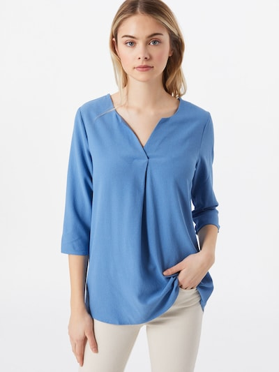 Bluză 'Emmi' ABOUT YOU pe albastru, Vizualizare model