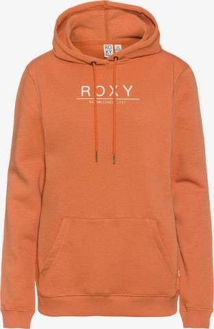 ROXY Sweatshirt 'Day Breaks' in Orange
