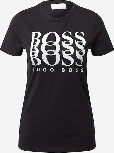 BOSS Casual Тениска 'Eloga' в черно / бяло, Преглед на продукта