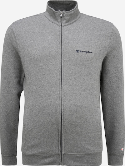 Champion Authentic Athletic Apparel Sweatjacke in dunkelblau / graumeliert, Produktansicht