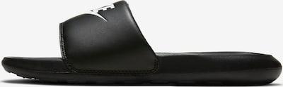 Nike Sportswear Pantolette 'VICTORI ONE' in schwarz / weiß, Produktansicht