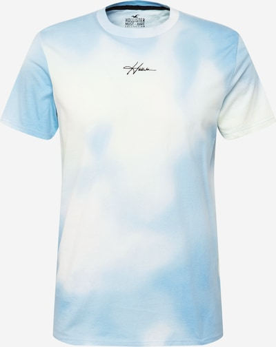 HOLLISTER Majica u svijetloplava / bijela, Pregled proizvoda
