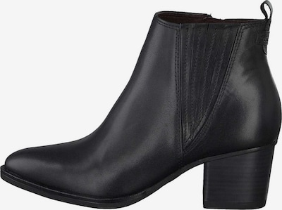 TAMARIS Bottines en noir: Vue de face