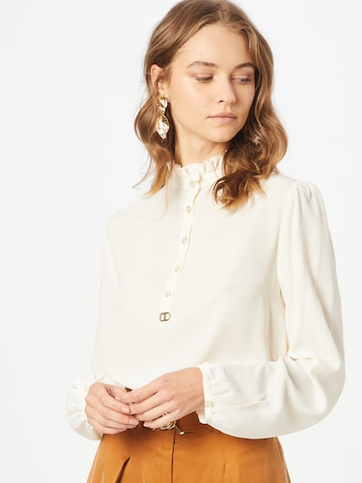 Twinset Blouse in White, View model