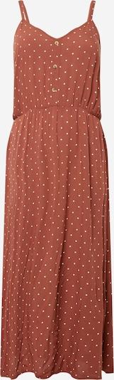 ABOUT YOU Curvy Kleid 'Jasmin' in braun / weiß, Produktansicht