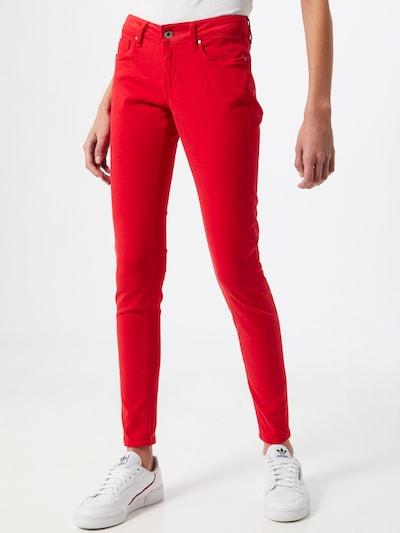 Pepe Jeans Traperice 'SOHO' u svijetlocrvena, Prikaz modela