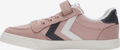 Hummel Sneaker in rosa / schwarz / weiß, Produktansicht