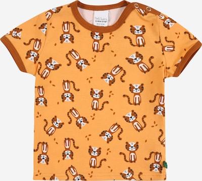 Fred's World by GREEN COTTON T-Shirt 'Bengal' en marron / orange clair / blanc, Vue avec produit