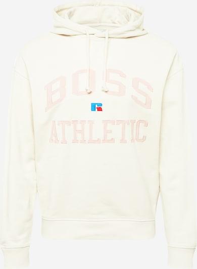 BOSS Casual Sweatshirt 'Safa' in beige / royalblau / hellpink / rot, Produktansicht