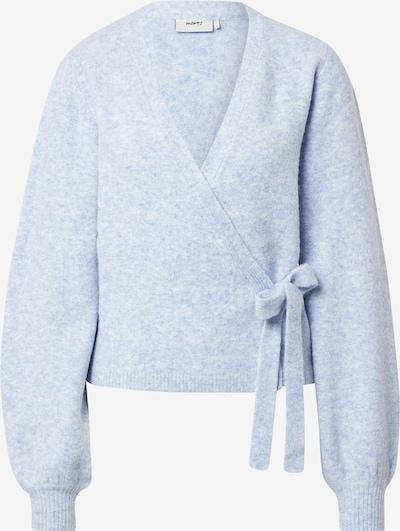 Geacă tricotată 'Mynte' Moves pe albastru deschis, Vizualizare produs