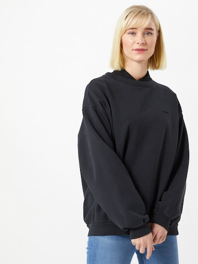 LEVI'S Sweater ' Melrose Slouchy Crew ' in anthrazit: Frontalansicht