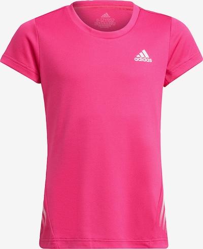 ADIDAS PERFORMANCE Sportshirt in pink / weiß, Produktansicht