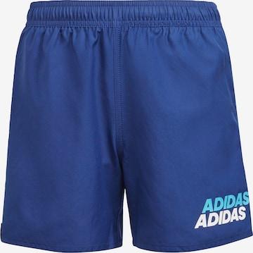 zils ADIDAS PERFORMANCE Sporta peldkostīms