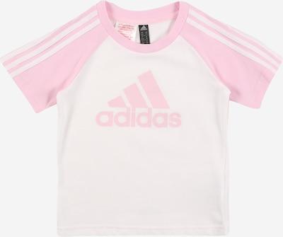 ADIDAS PERFORMANCE T-Shirt fonctionnel en rose clair / blanc, Vue avec produit