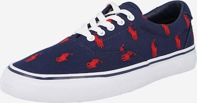 POLO RALPH LAUREN Nízke tenisky 'THORTON' - námornícka modrá / červená, Produkt