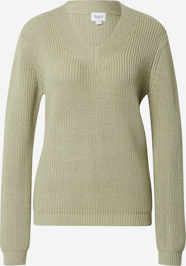 SAINT TROPEZ Pullover 'Caia' in hellgrün, Produktansicht