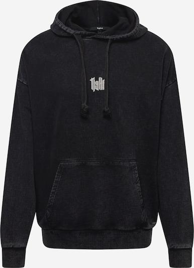 tigha Sweatshirt 'Memories' in grau / schwarz / weiß, Produktansicht