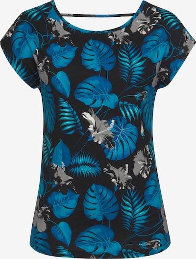 MELROSE T-Shirt in blau / marine / grau / weiß, Produktansicht