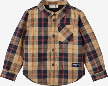 NAME IT Button up shirt in Brown