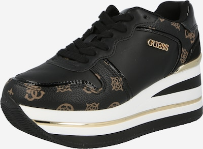 Sneaker low 'HEKTORE' GUESS pe maro / negru, Vizualizare produs