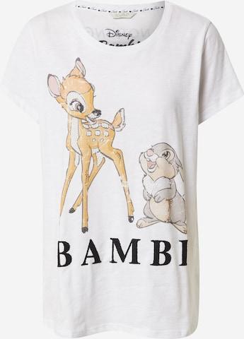 Frogbox - Camiseta 'Bambi' en blanco