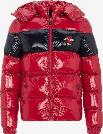 CIPO & BAXX Tussenjas in de kleur Rood / Zwart, Productweergave