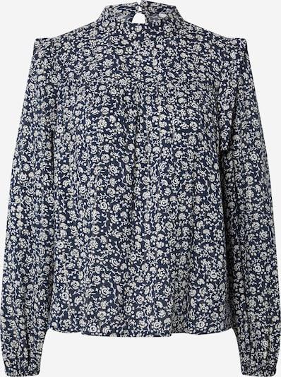 OVS Bluse in dunkelblau / weiß, Produktansicht