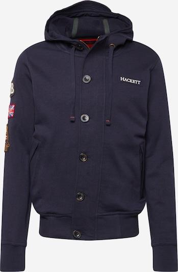Hackett London Sudadera con cremallera 'RALLY' en navy / rojo / blanco, Vista del producto