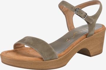 UNISA Sandalette 'Irita' in Grün