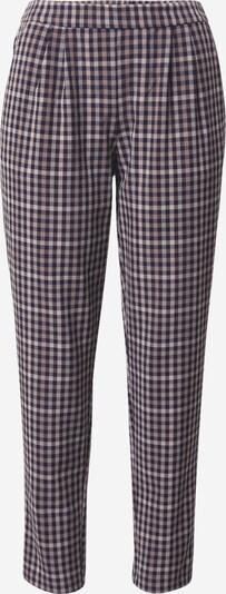 VILA Pantalon à pince en bleu / marron, Vue avec produit