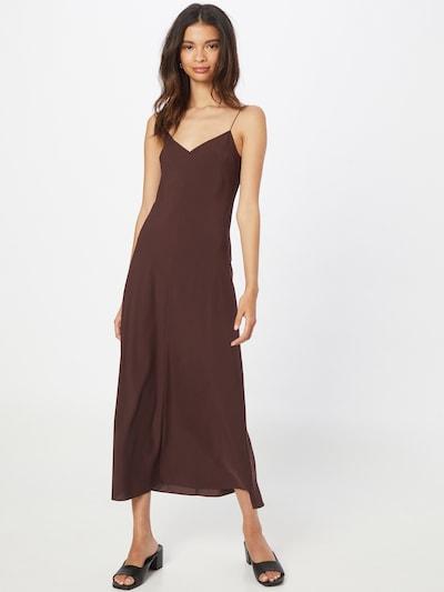 Designers Remix Kleid 'Valerie' in dunkelbraun, Modelansicht