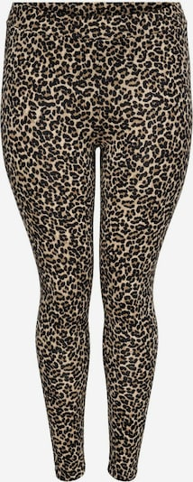 ONLY Carmakoma Retuusid 'CARTIME LIFE LEGGING AOP' beež / pruun / must, Tootevaade