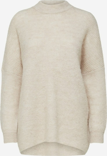 Selected Femme Petite Pullover 'Lulu' in creme / wollweiß, Produktansicht