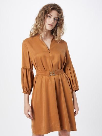 Marella Košilové šaty 'LACER' - hnědá, Model/ka