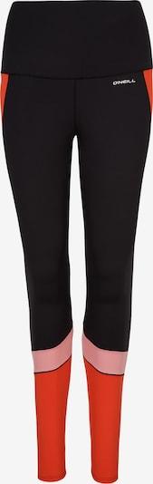 O'NEILL Sportbroek in de kleur Lichtoranje / Lichtroze / Zwart, Productweergave